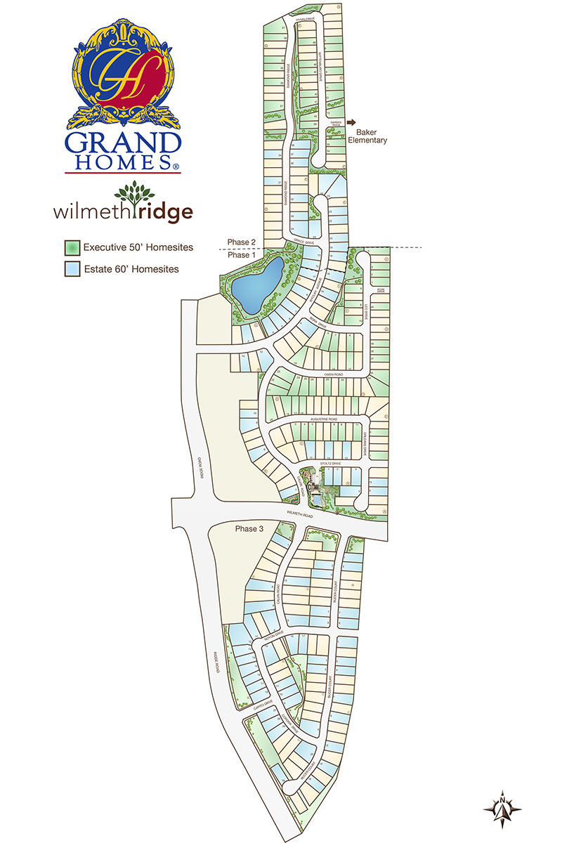 Communities community map wilmeth ridge mckinney tx for Grand home designs fort worth