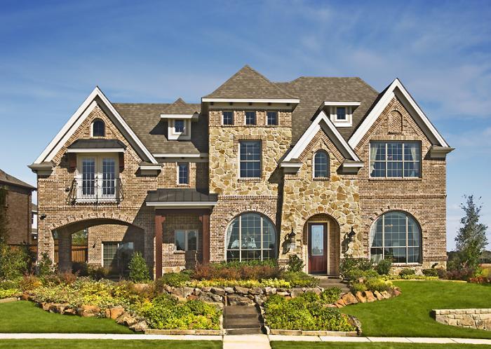 Dallas area model homes
