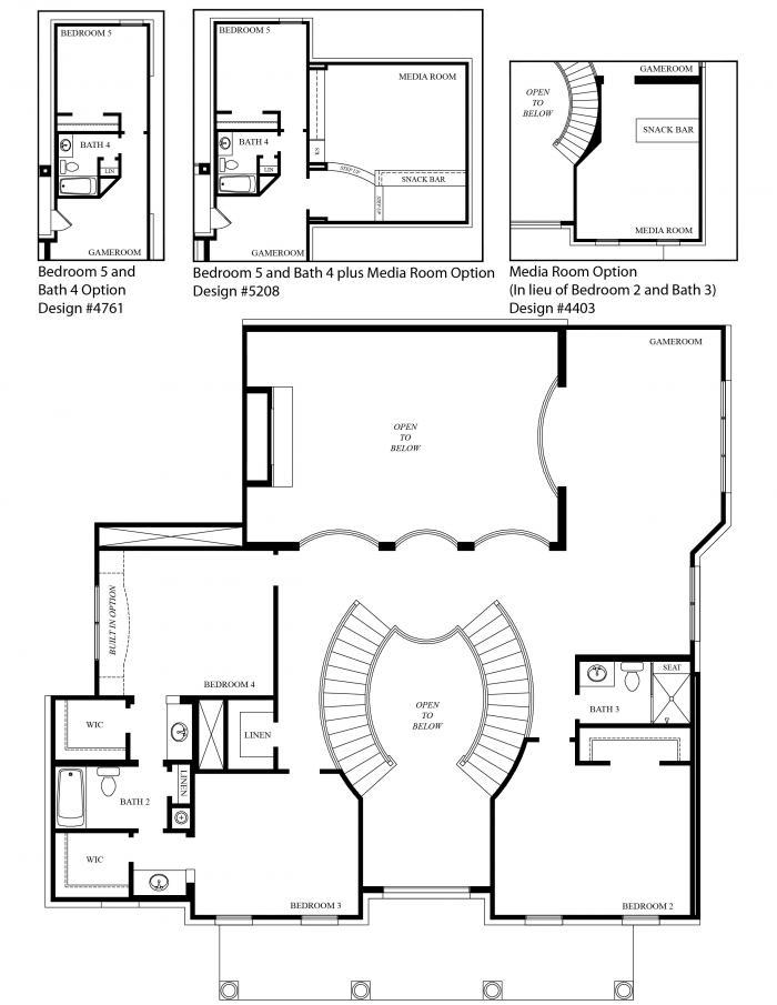 Grand homes hampton model floor plan