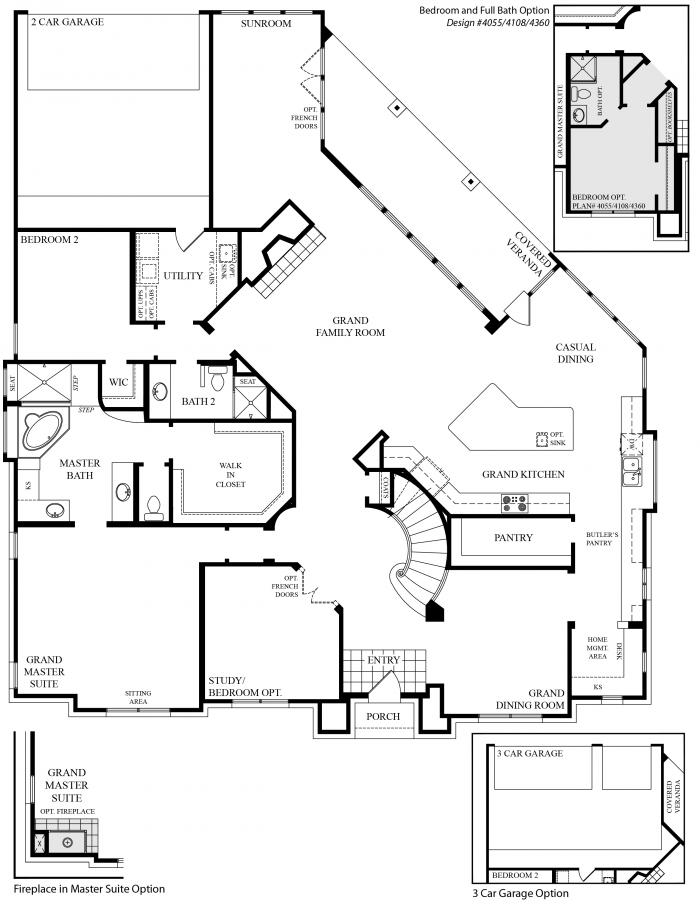 Grand Homes Hampton 3 Floor Plan