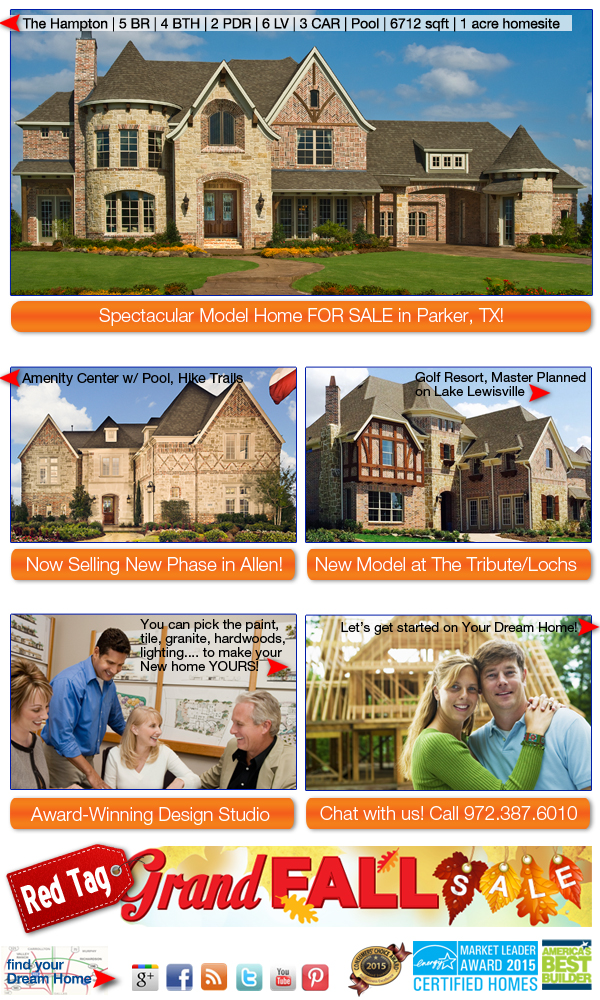 Summer homes builder 10 best outdoor living environments for Americas best home builders