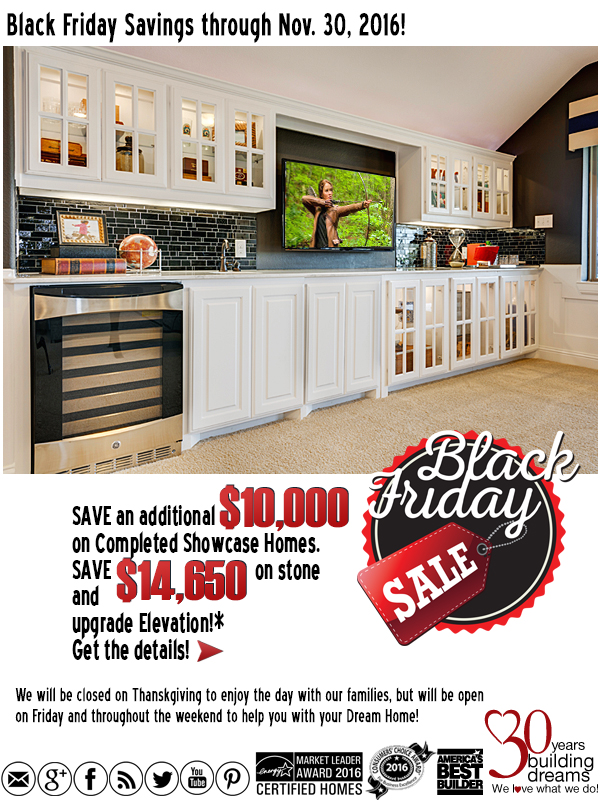 Grand Homes Black Friday Sales Event