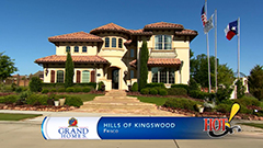 View Hills of Kingswood in Frisco video