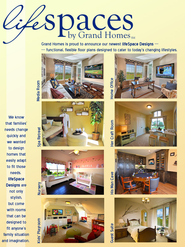 Lifespace designs for the way you live grand homes new for Grand home designs fort worth