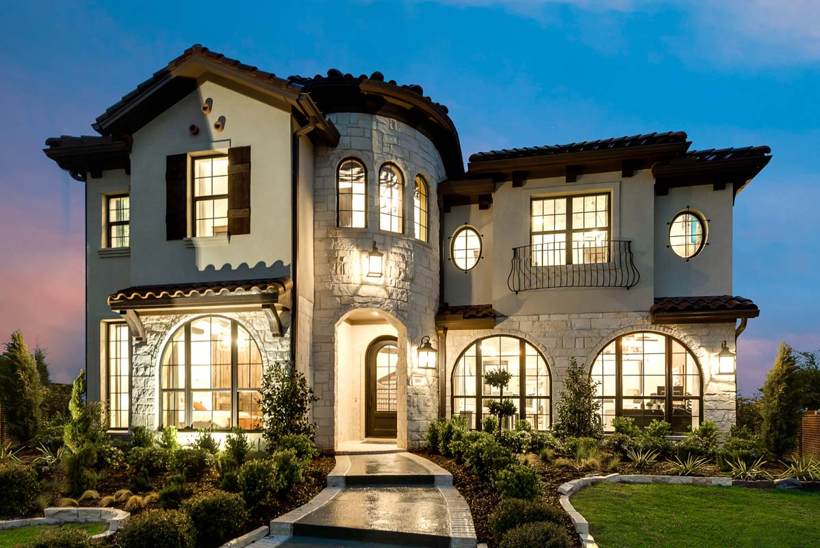 North-East: Tour At Craig Ranch homes